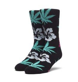 HUF Hibiscus Plantlife Socks Black