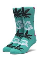 HUF Hibiscus Plantlife Socks Aqua
