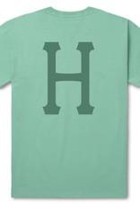 HUF Over Dye Classic H Aqua