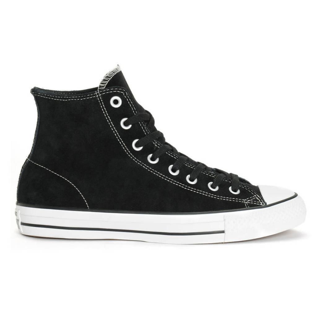 Converse USA Inc. CTAS Pro Hi Black/White Suede Zoom