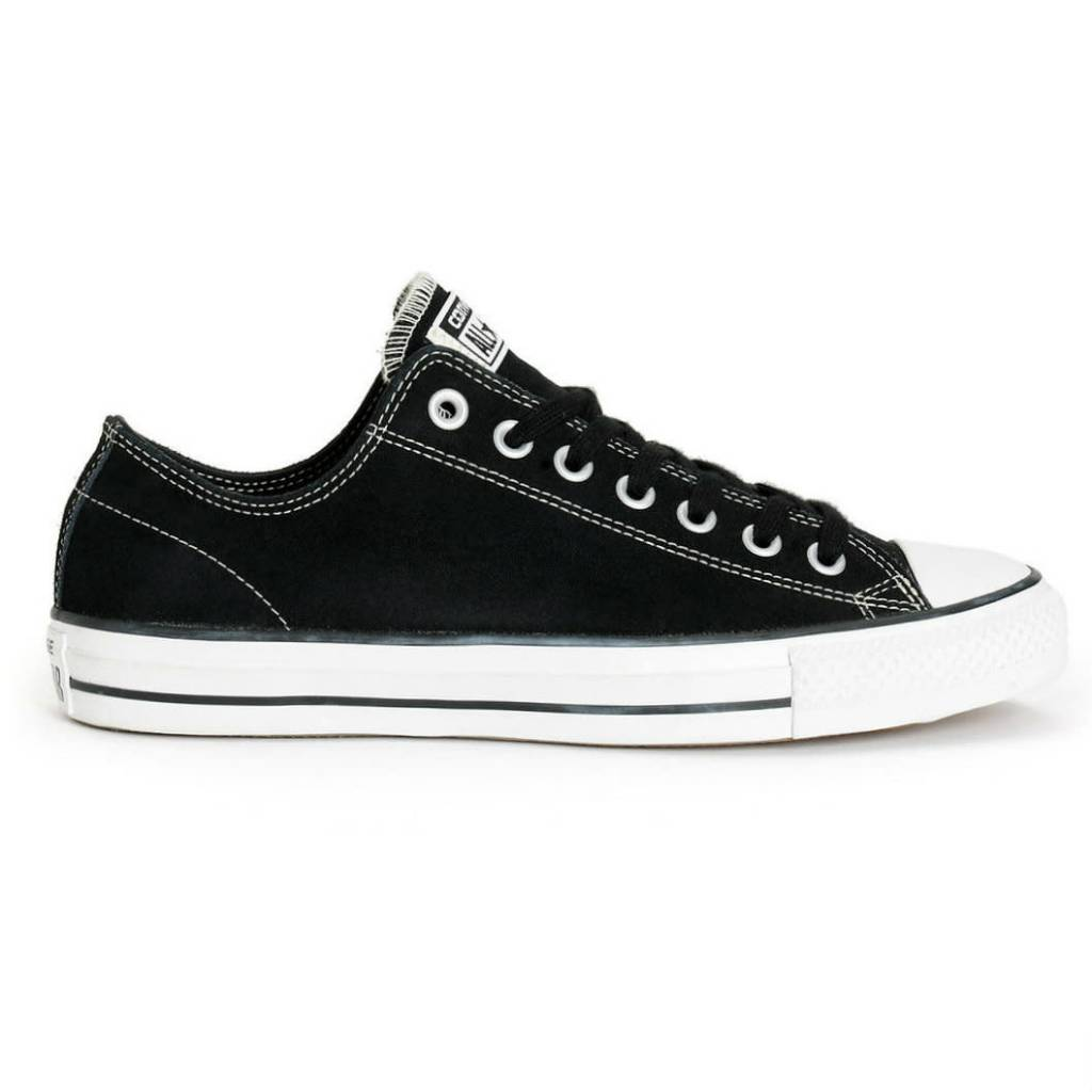 Converse USA Inc. CTAS Pro Ox Black/White Suede Zoom