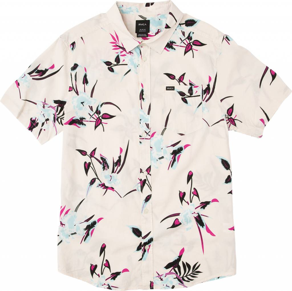 RVCA Moonflower S/S Rosewater