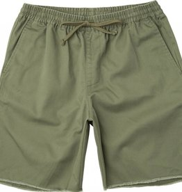RVCA A.T. Dayshift Elastic Short Fatigue Green