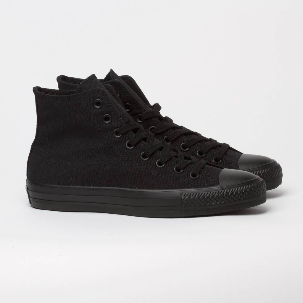Converse USA Inc. CTAS Pro Hi Black/Black Canvas