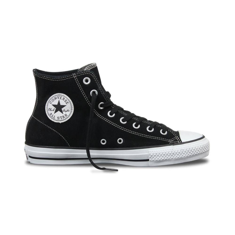 Converse USA Inc. CTAS Pro Hi Black/White Suede
