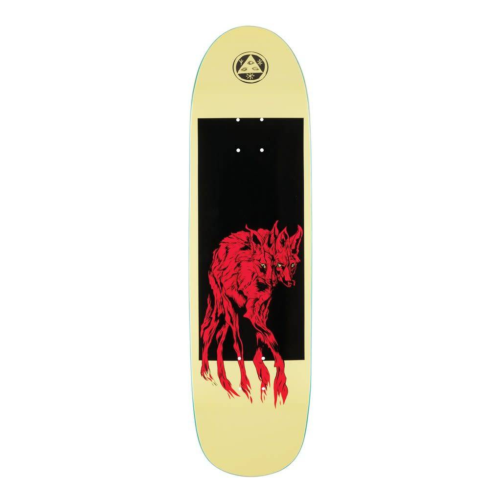 """Welcome Skateboards Maned Woof on Pysanka Pale Yellow 8.5"""""""
