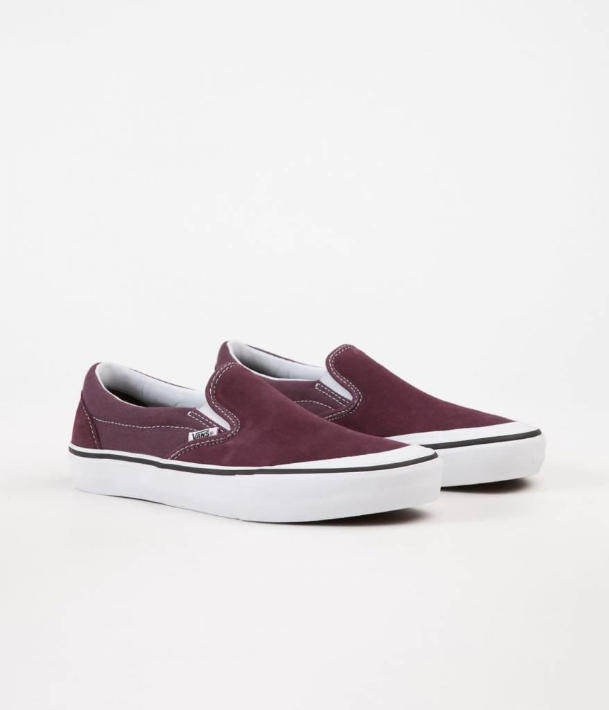 Vans Shoes Slip On Pro Raisin/White