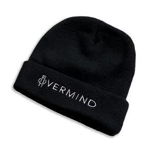 Overmind OVRMND Logo Beanie Black