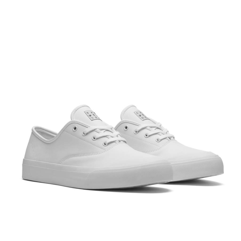 HUF Cromer White/White Leather
