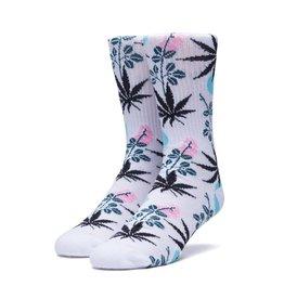 HUF Cherry Blossom Plantlife Sock White