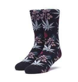 HUF Cherry Blossom Plantlife Sock Black