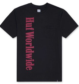 HUF Country Pocket Tee Black