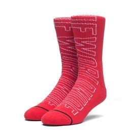 HUF Grand Prix Crew Sock Scarlet