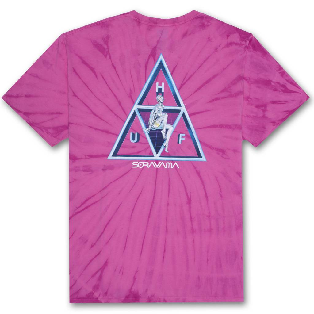 HUF HUF x Sorayama TT Wash Pink