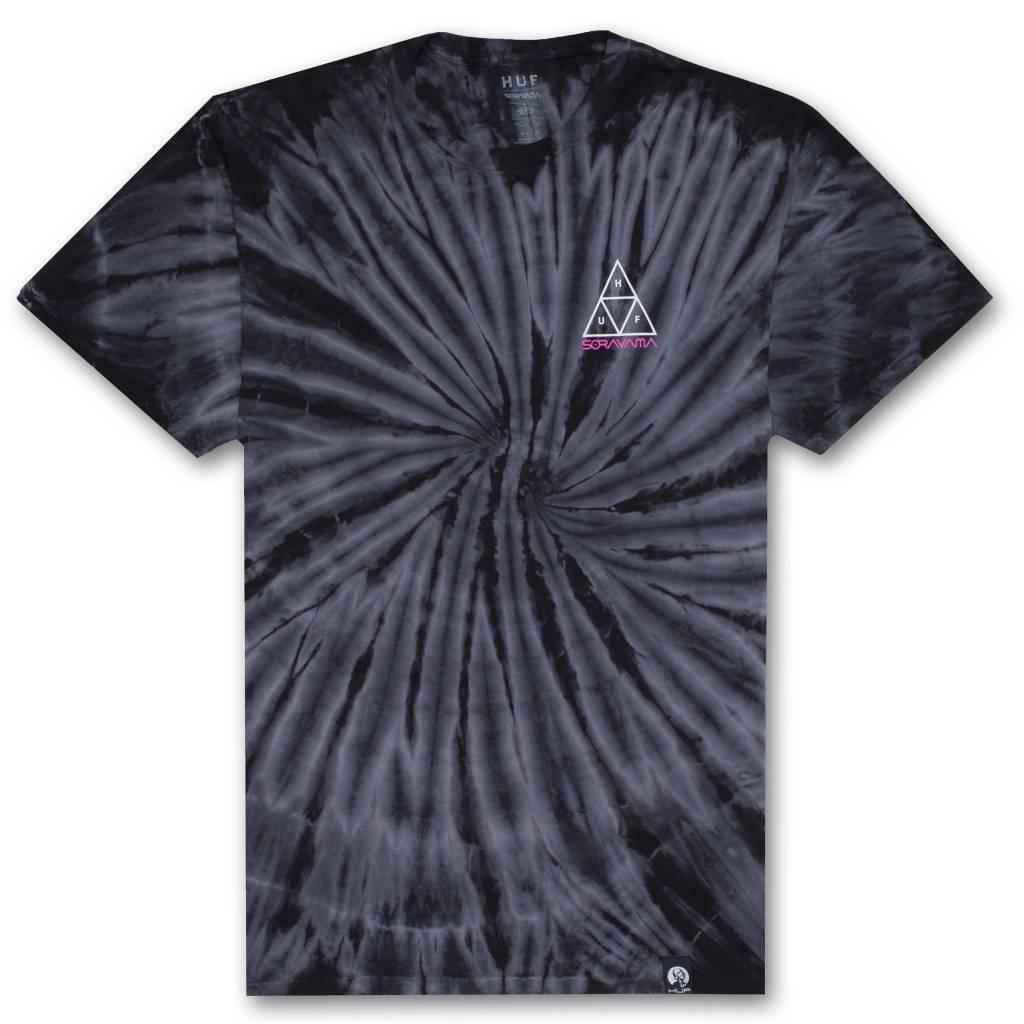 HUF HUF x Sorayama TT Wash Black