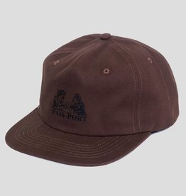 Pass~Port Romantics Washed Canvas Cap Brown