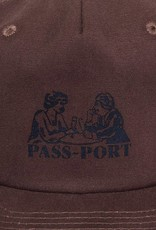 Pass~Port Romantics Washed Canvas Cap Brown