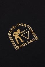 Pass~Port Pool Hall Emroidered Black