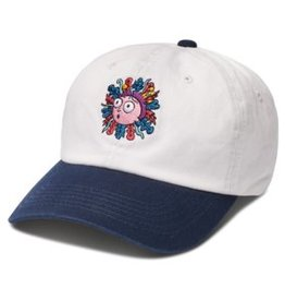 Primitive Morty Dad Hat White