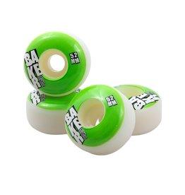 Baker Skateboards Stacked Neon Green 52mm