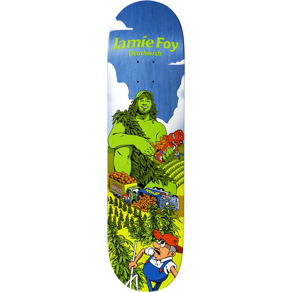 Deathwish Skateboards Greens JF 8.0""