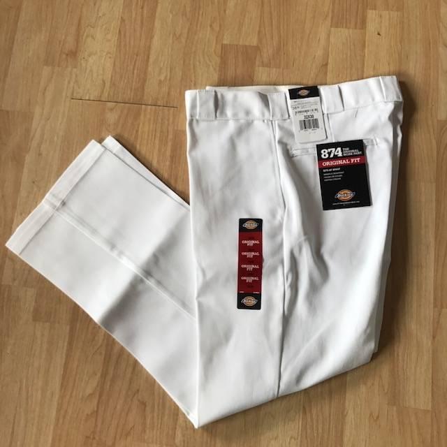 Dickies Original 874 Work Pant White