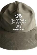 APB Skateshop APB Truckah Hat Olive