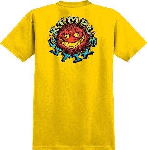 Anti Hero Grimple Stix Yellow Red Blue Tee