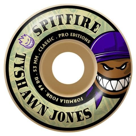 Spitfire Wheels Spitfire F4 99d Tyshawn Classic