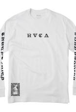 RVCA JeanJean Detention L/S  White