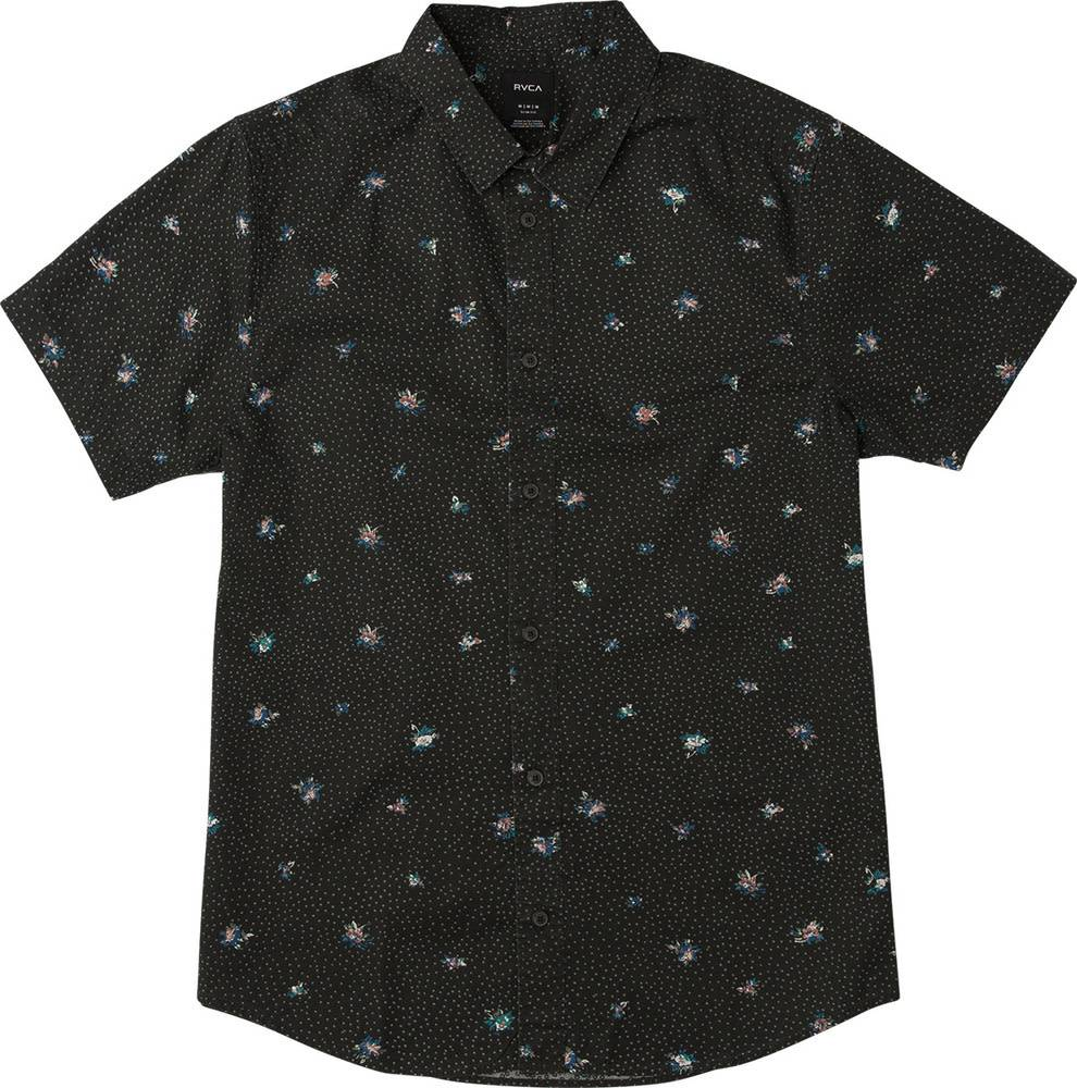 RVCA Scattered S/S Black