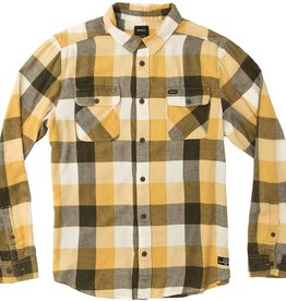 RVCA Buffalo Girl Plaid L/S Dark Military