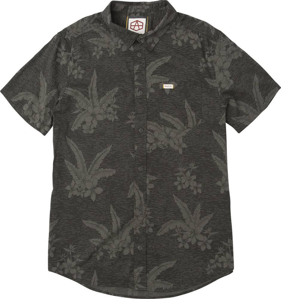 RVCA Reynolds Hawaiian S/S Black