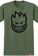 Spitfire Wheels Bighead Military Green Tee
