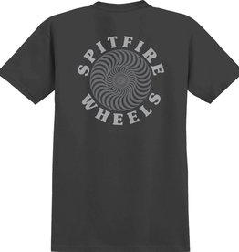 Spitfire Wheels OG Classic Black/Grey Reflective Tee