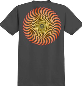 Spitfire Wheels Classic Swirl Fade Black Youth Tee