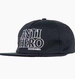 Anti Hero Blackhero Outline Navy Snapback