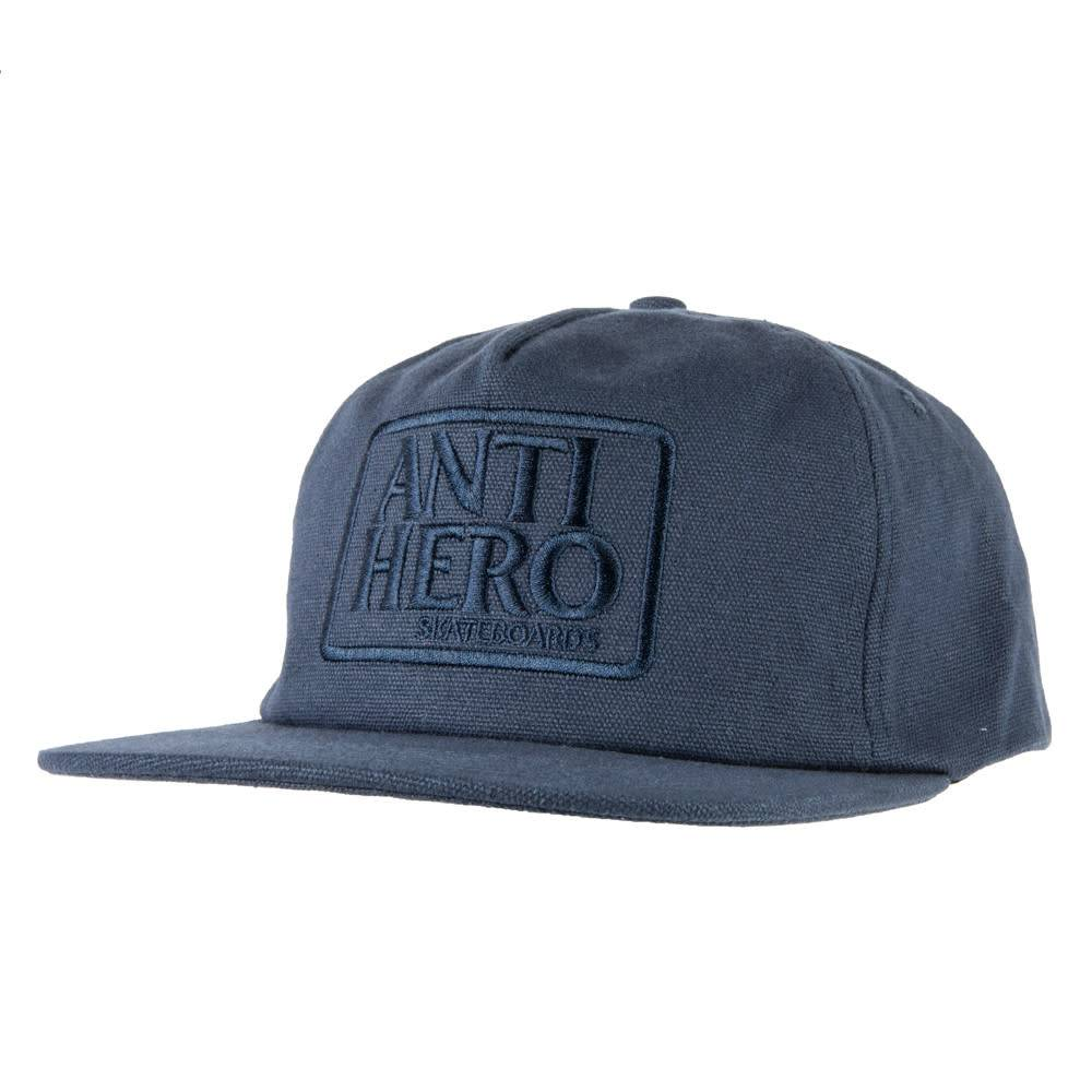 Anti Hero Reserve Patch Charcoal Snapback