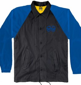 Krooked Eyes Black/Royal Jacket