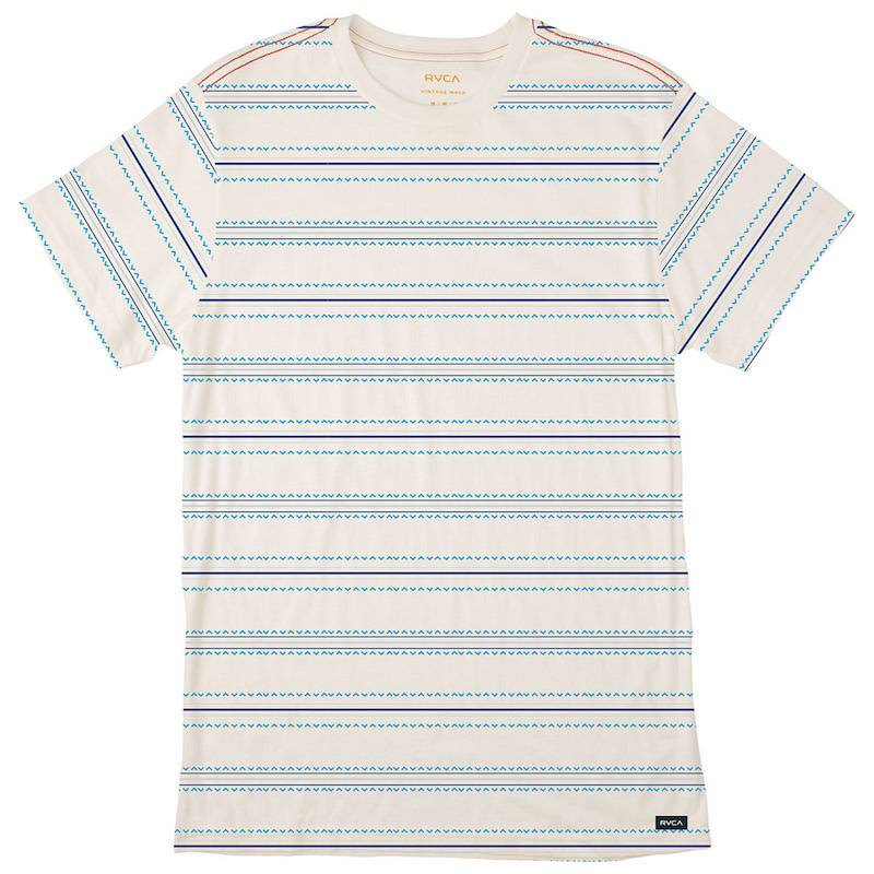 RVCA Feeder Stripe White