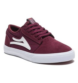 Lakai Kids Griffin Burgandy Suede