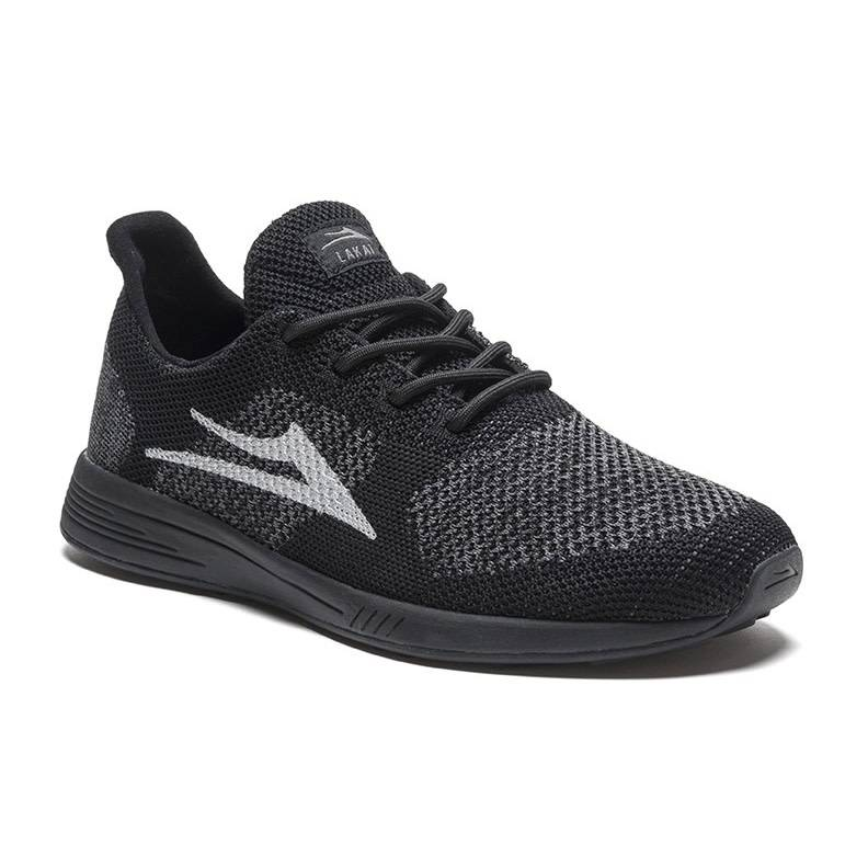 Lakai Evo Black/Reflective Knit