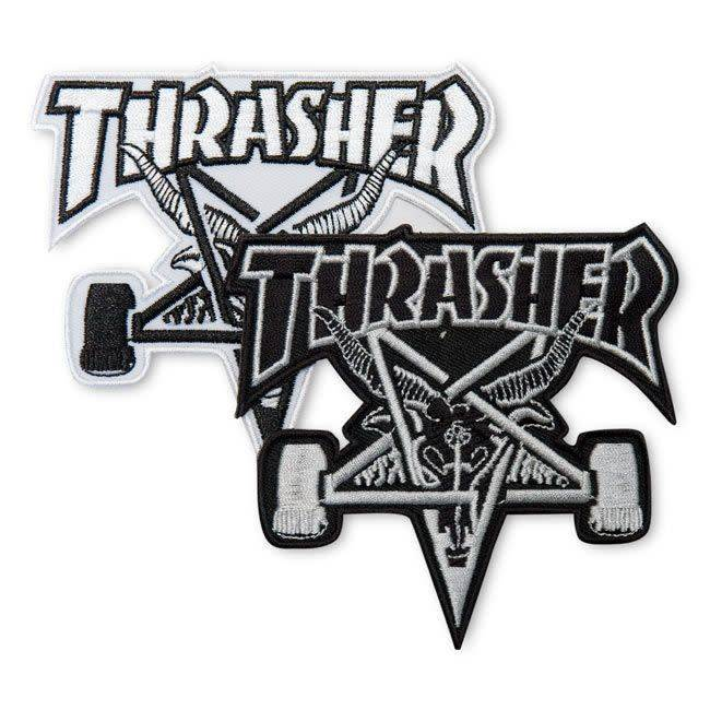 Thrasher Mag. Sk8goat Patch