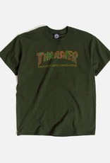 Thrasher Mag. Davis Tee Forest Green