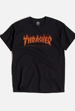 Thrasher Mag. Flame Halftone Tee Black