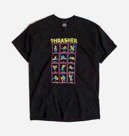 Thrasher Mag. Black Light Tee Black