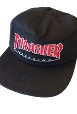 Thrasher Mag. Outlined Snapback Black