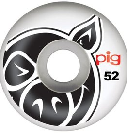 Pig Wheels Pig Head Natural 52mm