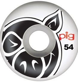 Pig Wheels Pig Head Natural 54mm