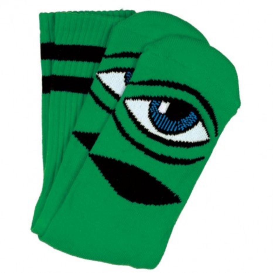 Toy Machine Sect Eye Sock Green